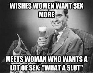 women want sex